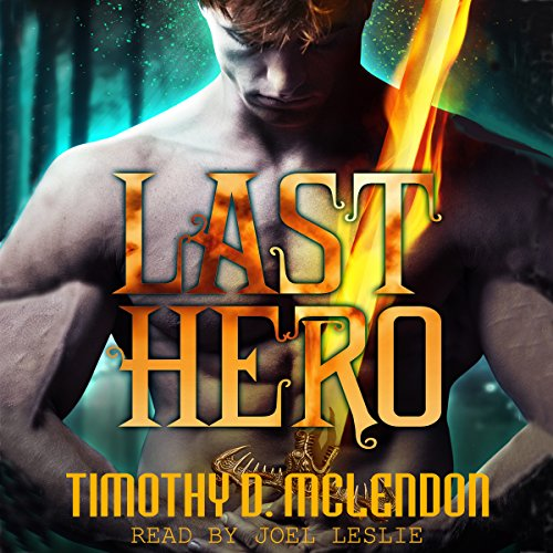 Last Hero audiobook cover art