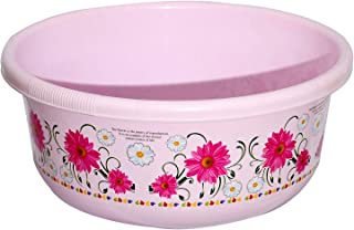 Heart Home Unbreakable Plastic Multipurpose Bath Tub/Washing Tub 40 Litre (Pink) - CTHH018107
