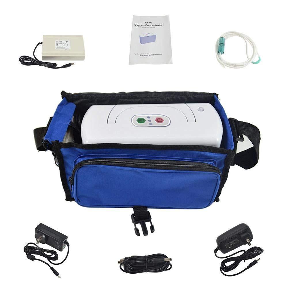 TTLIFE Oxy-Gen - Máquina de oxígeno portátil para Coche de Viaje, 3 l/min, para purificador de Aire de sueño, Salud del hogar, Mo-nitor-110 V Humidi-fiers: Amazon.es ...