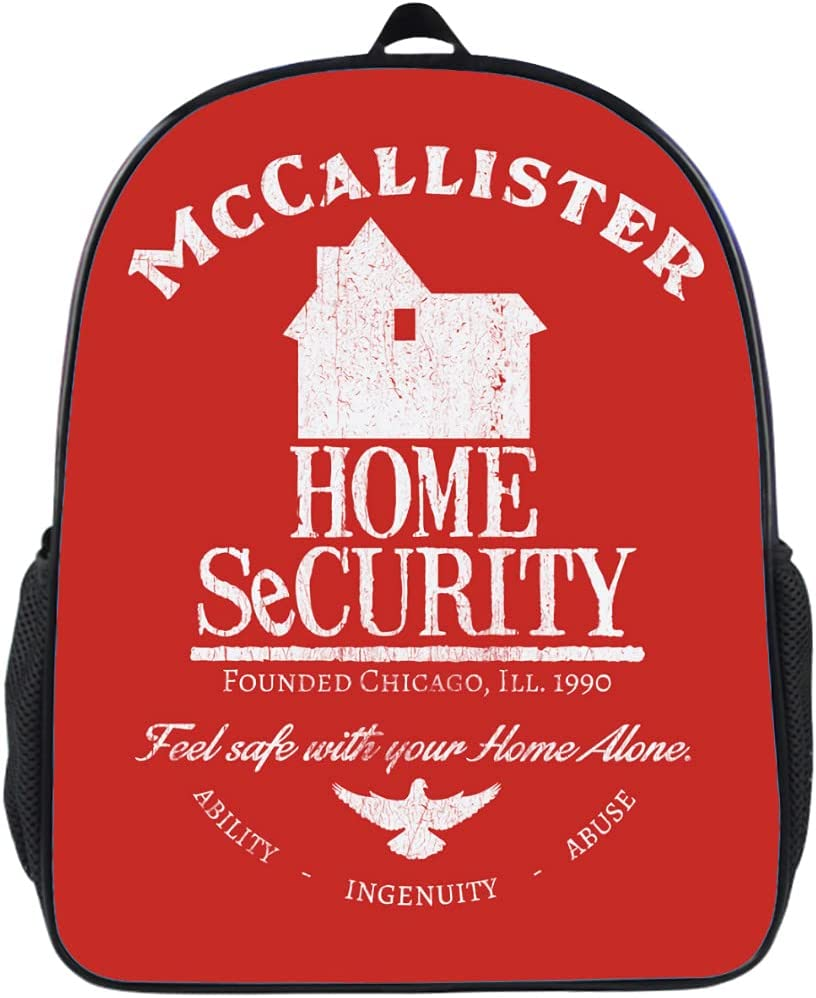 McCallister Home SecurityChild Schoolbag Travel Bombing new work Max 67% OFF Laptop Backp Bag