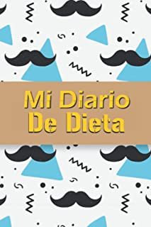 Mi Diario de Dieta: Cuaderno para registrar comidas, tabla de pérdida de peso - compatible con planes de dieta - 100 DÍAS