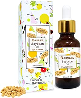 B-URBAN Soybean Oil 100% Natural Pure Undiluted Uncut Carrier Oil 30ml
