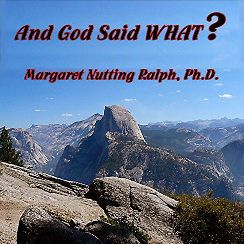 And God Said What? audiobook cover art