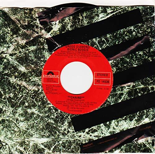 GREGG DIAMOND BIONIC BOOGIE 45 RPM Chains / Paradise