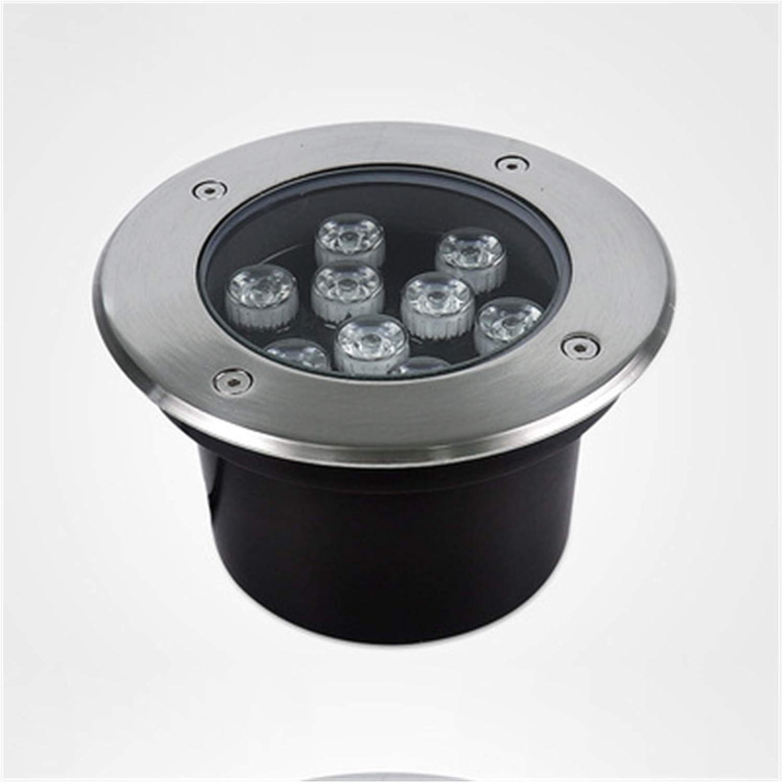 BDSHL LED Landscape Lights Award-winning store 12v IP67 Recessed Round 25% OFF Waterproof Li