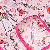 Jopwkuin Funda de Silla Infantil antiincrustante para recién Nacido Azul Rosa(Pink)