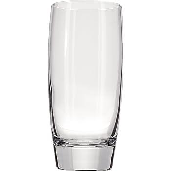 Luigi Bormioli Michelangelo 20 ounce Beverage Glass, Transparent Glass, Set of 4