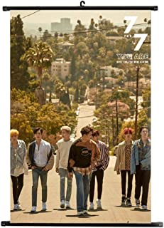 gerFogoo 2020 Kpop GOT7 Eyes On You/7 For7 Album Wall Scroll Poster GOT7 Official Postcard GOT7 Poster, Decorate Your Room(one Size)