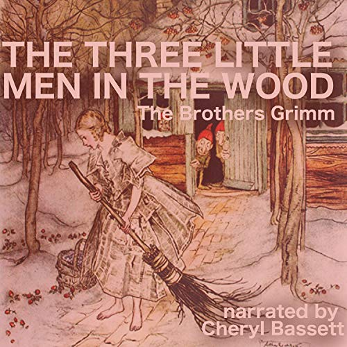 The Three Little Men in the Wood audiobook cover art