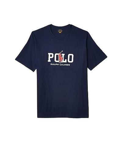 Polo Ralph Lauren Big & Tall Big Tall 26/1 Jersey Short Sleeve Classic Fit T-Shirt (Newport Navy) Men