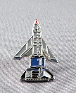 Metalen Emaille Pin Badge Thunderbirds 1 Thunderbird One