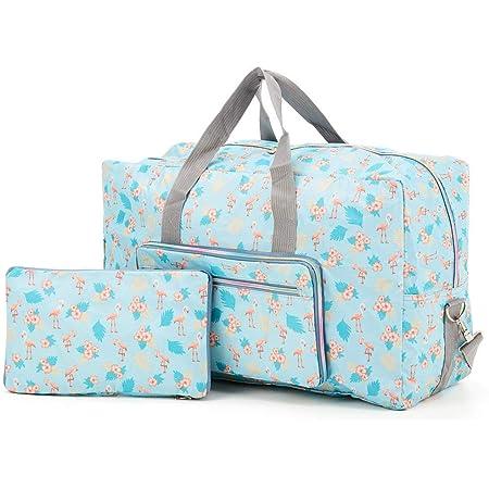 Arxus Große Faltbare Reisetasche Tragen Sie die Reisetasche am Wochenende über dem Gepäck mit Schultergurt