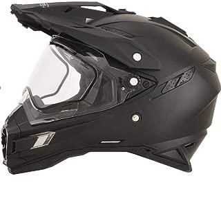 AFX FX-41DS Solid Mens Snow Helmets - Flat Black - Large