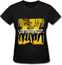 Bruce Springsteen And The E Street Band 2016 Poster Women's T-shirt Black