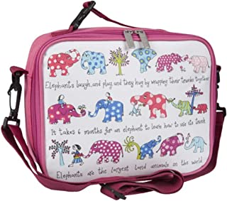 Tyrrell Katz Elephants insulated lunch bag by LK Gifts and Homewares