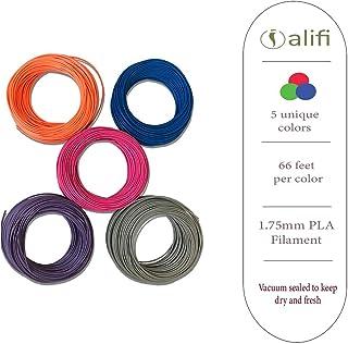 3D Filament for 3D Pen & 3D Printer (5 colors)