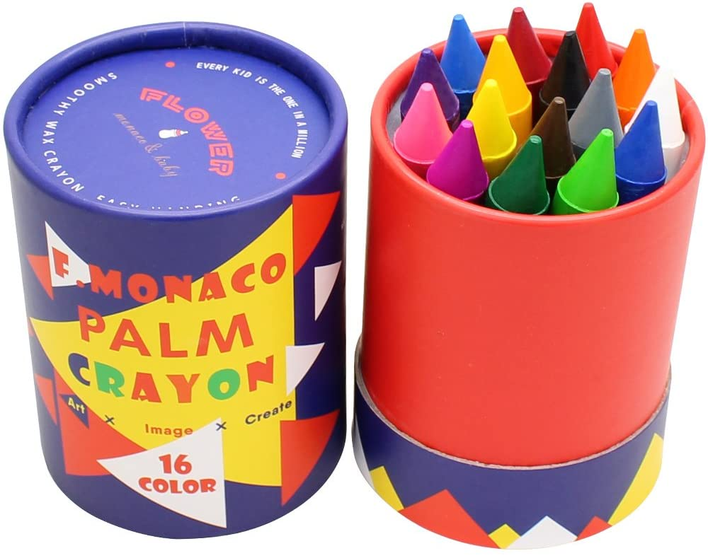 Jumbo Crayons Albuquerque Mall for Toddlers 16 Colors Non service Easy Toxic to