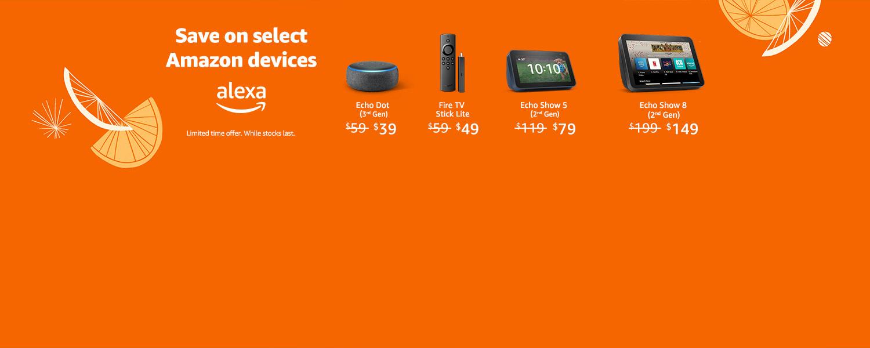 Echo Dot (3rd Gen) now $39