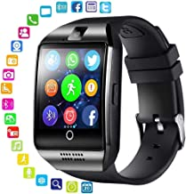 Bluetooth Smartwatch Touchscreen with Camera, Smart Watch for Android iOS iPhones, Smart Watches Waterproof Smart Wrist Watch Phone Compatible with Android iPhone X 8 7 …