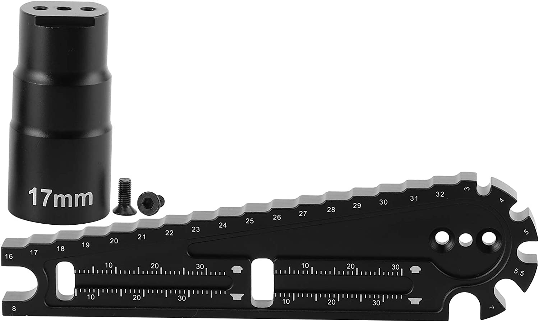 Rainbowrock RC Height Ruler Measuring Wr Tool Max 52% unisex OFF Multi‑Functional