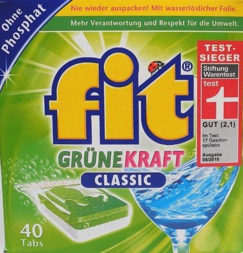 Fit Grüne Kraft Classic, Tabs ohne Phosphat