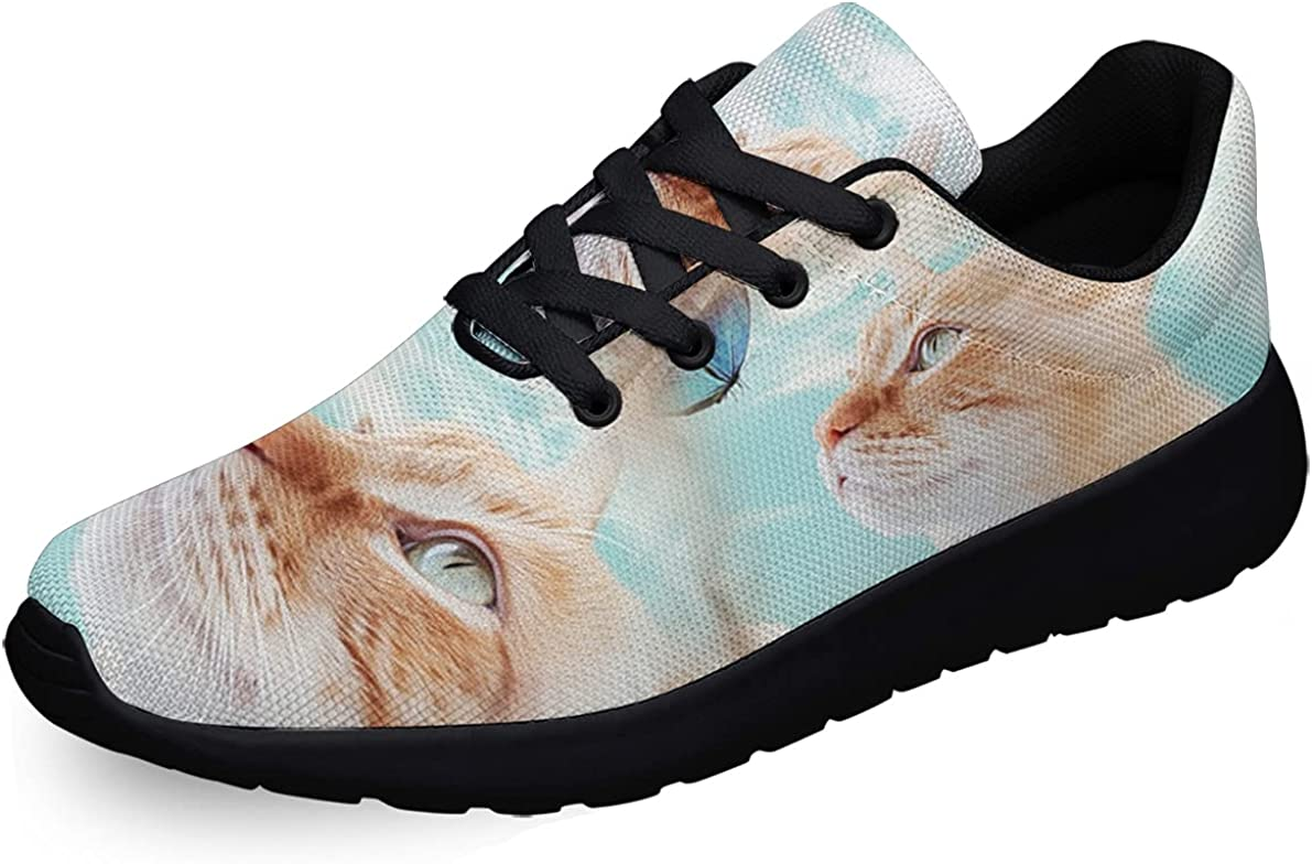 Sonzj-II Women Men Ranking TOP12 Tennis Shoes Fashion A surprise price is realized Butterf Cat Athletic and