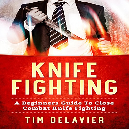 Knife Fighting audiobook cover art