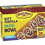 Old El Paso, Soft Taco Boats, Mini Flour Tortilla Bowls, 20 ct, 8.5 oz