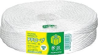 コクヨ PP紐 100m 3本撚り チーズ巻き 白 ホヒ-51W