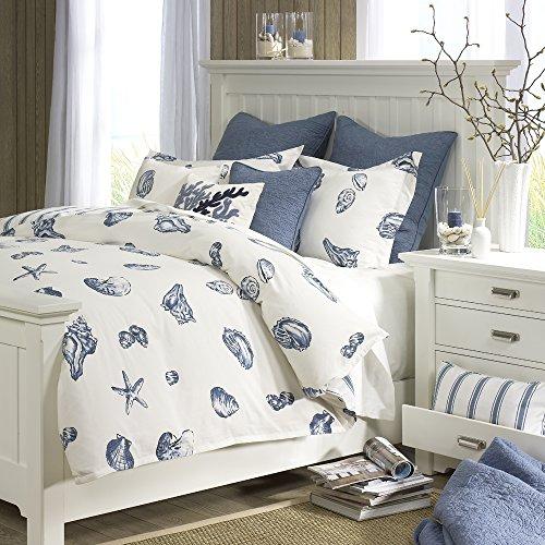 Beach House 3 Piece Duvet Cover Set Blue Full/Queen