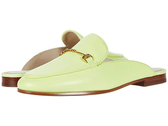 Sam Edelman  Linnie (Lime Cocktail Neon Nappa Leather) Womens Clog/Mule Shoes