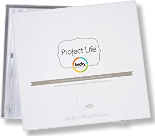 Becky Higgins Big Pack of 12x12 Page Protectors (60 Pages)