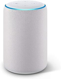 Echo Plus (2.ª generación) - Sonido de alta calidad y controlador de Hogar digital integrado tela de color gris claro
