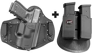 Fobus IWBM Inside the Waistband Holster Glock 17, 19, 26, 27, 28, 33, 43 + 6900 Double Magazine Pouch