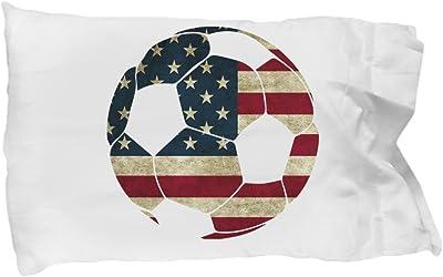 Funny Novelty Gift For Soccer Fan/Player American Flag Soccer Ball Best Soccer, Player