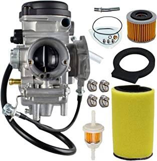 Carburetor Carb Kit For Yamaha Big Bear Wolverine Kodiak Grizzly 400 YFM 400 YFM400 2000 2001 2002 2003 2004 2005 2006 ATV With Air Fiter Fuel Filter