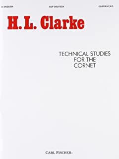 Technical Studies for the Cornet (English, German and French Edition)