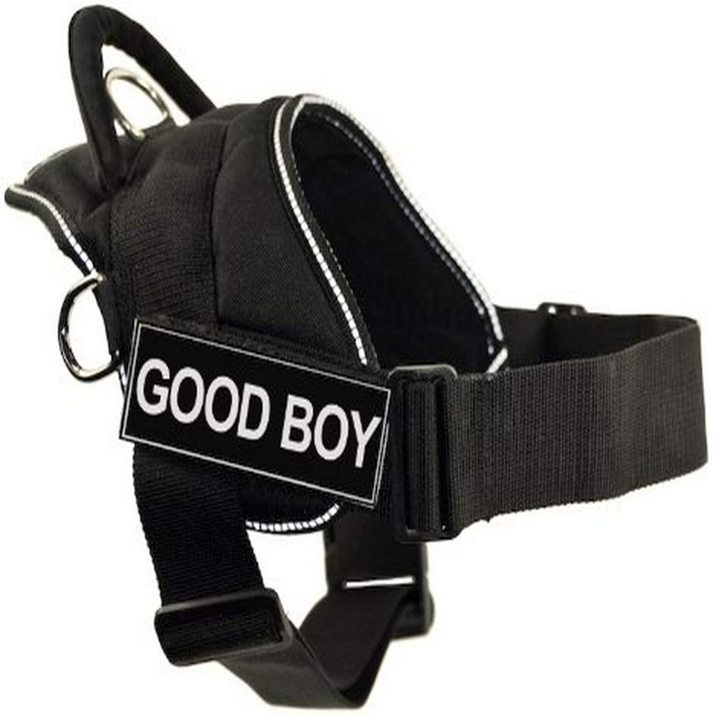 DT Fun Harness Good price Boy Black X-Small With Phoenix Mall - Reflective Trim
