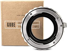 Gobe Lens Adapter: Compatible with Pentax DA Lens and Sony E-Mount Camera Body