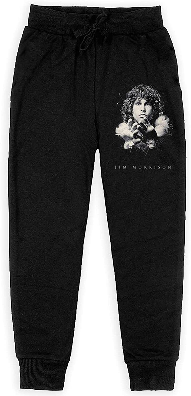 Jim Morrison Art Sweatpants Kids Sport Joggers Athletic Casual Pants for Boys Girls