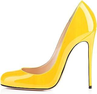 c66e8f0a2b1e2 Amazon.fr   chaussures à talon jaune sexy   Chaussures et Sacs