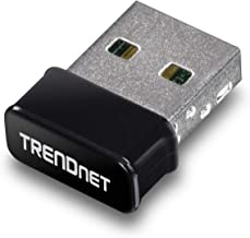 Best TRENDnet - TEW-808UBM Micro AC1200 Wireless USB Adapter, MU-MIMO, Dual Band Support 2.4GHz/5GHz, Supports Windows/Mac, TEW-808UBM Black Review