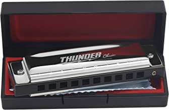 Focusound Thunder Harmonica for Beginners, Diatonic, Key of C