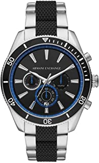 Bevilles Armani Exchange Enzo Chronograph Watch AX1831 Stainless Steel 3 Hands|Chronograph|Date 0723763279185