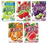 明治 果汁グミ アソートセット 5種各2個計10個(マスカット・いちご・ぶどう・温州みかん・もも)