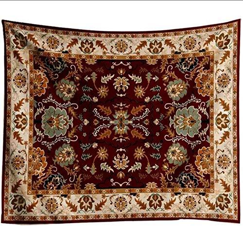 myvovo) Nordic de Lujo decoración del hogar Tapiz de Pared Decorativos marroquíes Alfombra de la Pared Sala de Estar Colgando de Tela de Tela de Mandala Bohemio