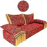 Sofá oriental Yassir de 200 cm, 3 plazas, juego de sofá