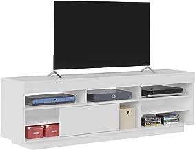 Artely Treviso TV Table for 60 inch TV, White/Antique - H 56.5 cm x W 180 cm x D 41.5 cm