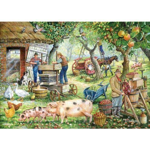1000 Teile Puzzle - Apfelwein-Hersteller (Cider Makers)