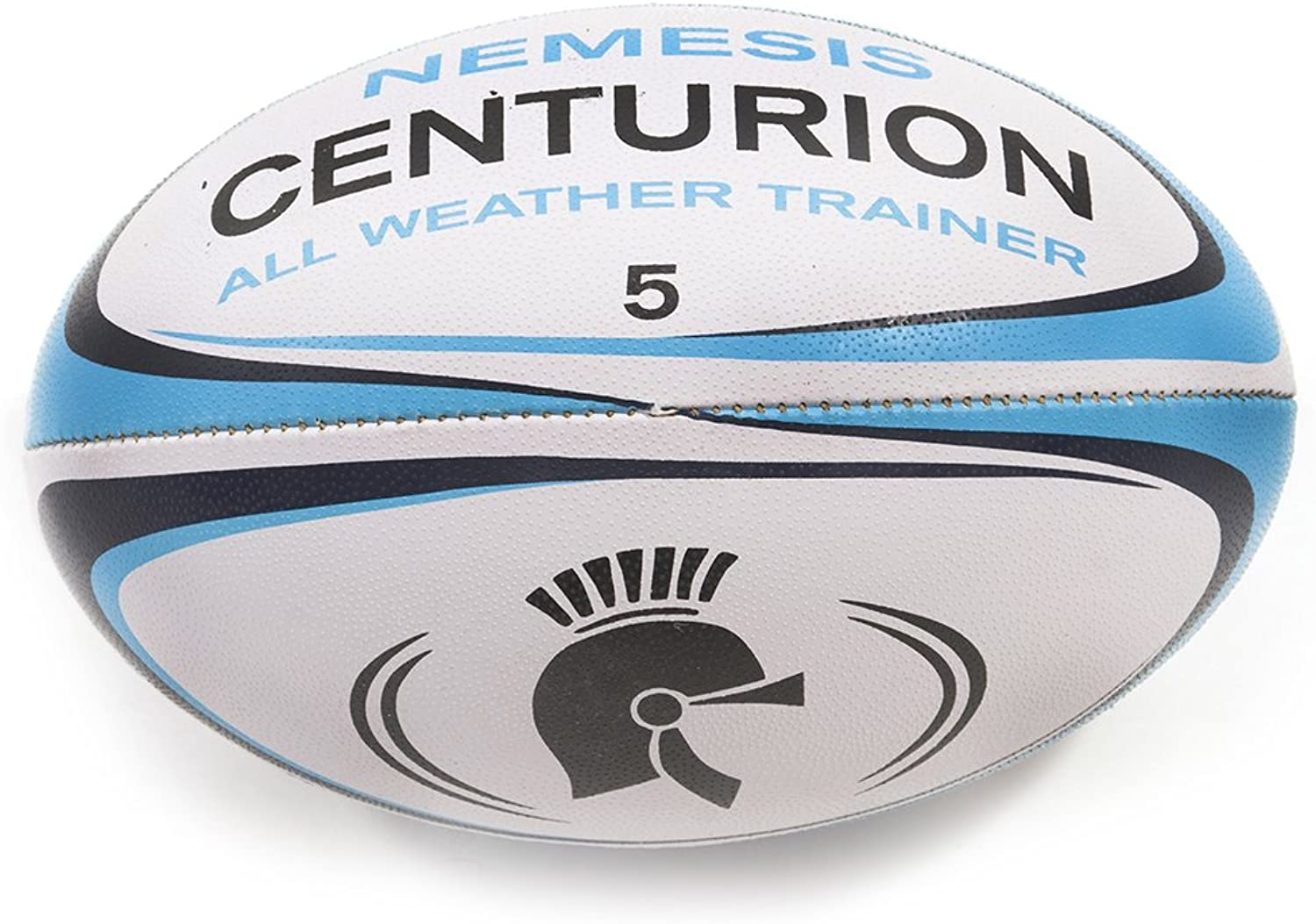 Centurion Nemesis All Weather Rugby Ball - blueee, Size 5